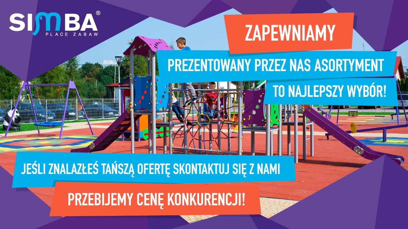 Simba producent placów zabaw, place zabaw dla przedszkoli, do gmin